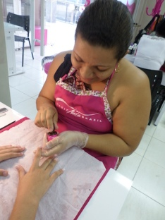 Curso unha porcelana Magic Nails