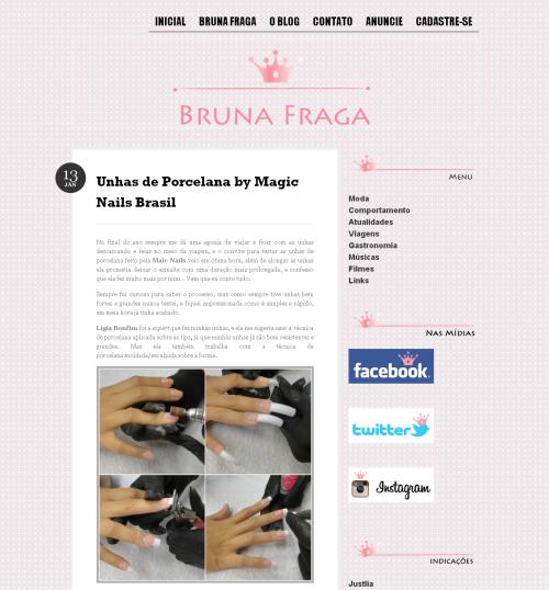 Unhas de Porcelana by Magic Nails Brasil   Bruna Fraga