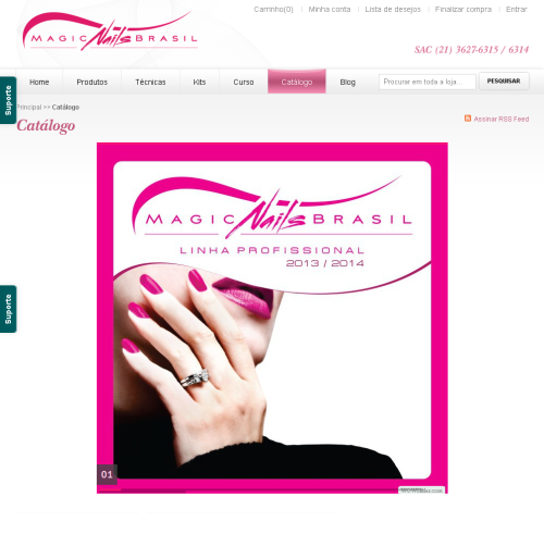 catálogo Magic nails