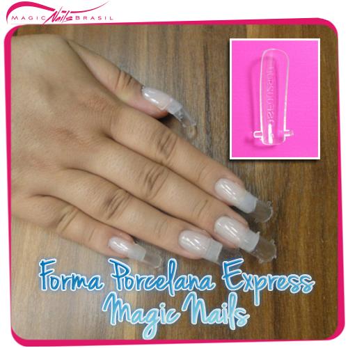 forma porcelana express magic nails