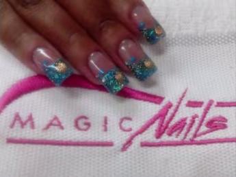 unhas de porcelana decoradas magic nails
